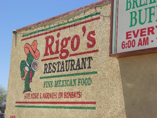 Rigo's Mexican Restaurant: Rigo