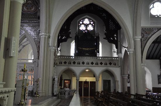 Holy Cross Church: inside church