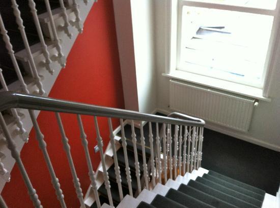 Hotel Restaurant Loreto: detalle escalera