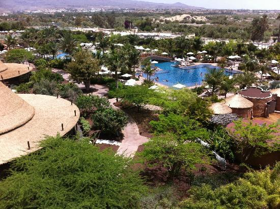 Lopesan Baobab Resort : Explendia vista desde la terraza