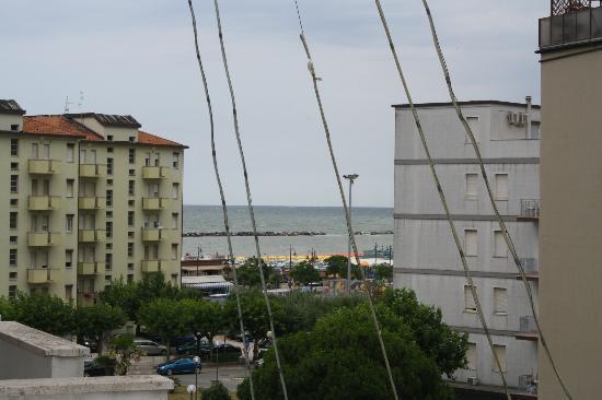 Hotel Raffaello: Aussicht