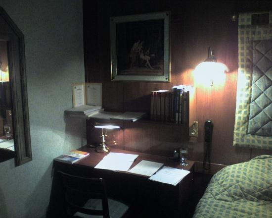 Hotel Terminus du Forez: bureau