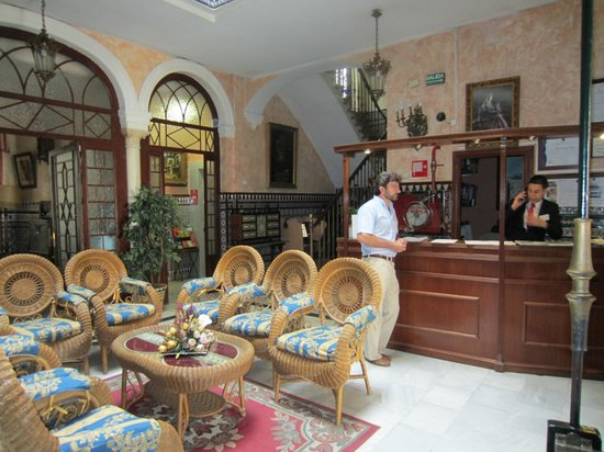Hotel Europa: Reception