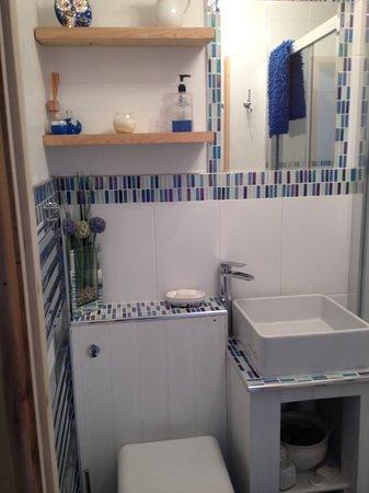 Barn Owl Accommodation: bathroom