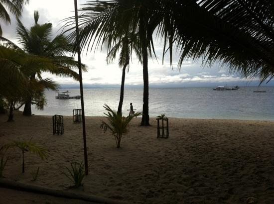 Malapascua Exotic Island Dive & Beach Resort: beach