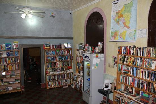 Lucha Libro Books: The front room of the new store on opening day.