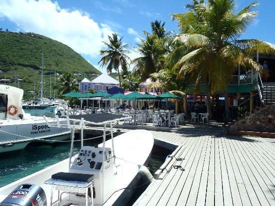 Pusser's Landing: Pussers from the dock