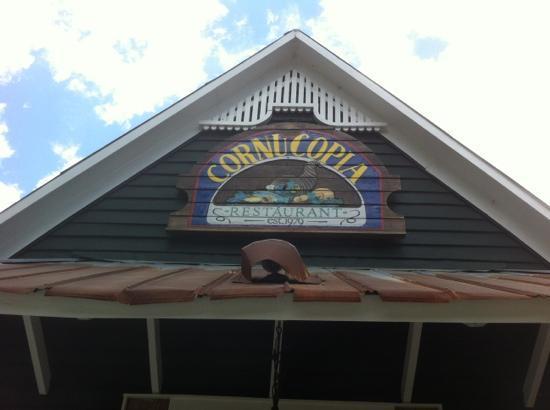 Cornucopia Restaurant: front view