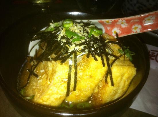 KA-ZE Sushi and Beyond: Agedashi Tofu, Kaze Sushi Whistler