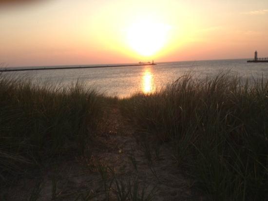 Days Inn Manistee : Manistee beach / Lake Michigan