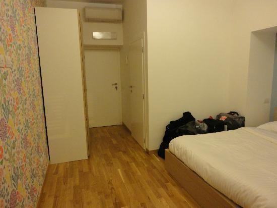 La Controra Hostel Rome: Quarto duplo privativo