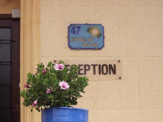 Hotel du Soleil : Fachada