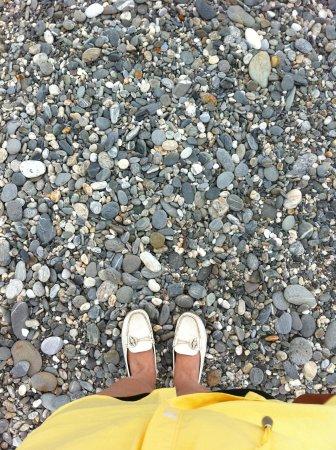 Chishingtan Scenic Area: The beautiful pebbles on the beach