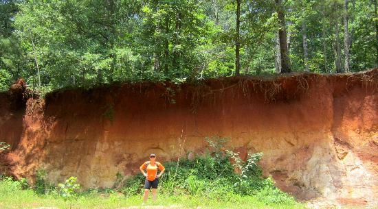 Me in front of clay erosion picture of red top mountain state park red top mountain state park me in front of clay erosion publicscrutiny Image collections