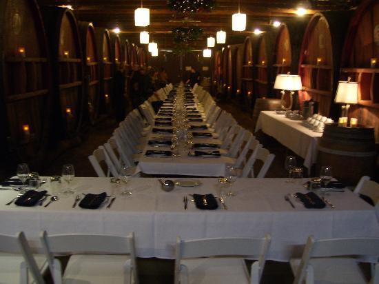 Pieter van Gent Winery & Vineyard: Dinner