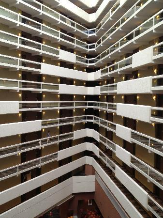 Hyatt Regency Austin: View across the atrium