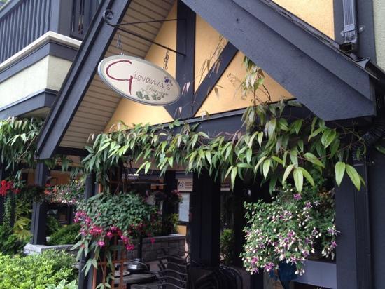 Giovanni's Ristorante & Lounge : outside of Giovanni's