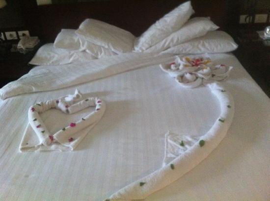 Rixos Sharm El Sheikh: my bed
