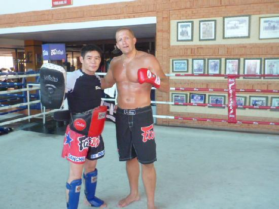 Fairtex Sports Club Hotel: My Trainer Danchai
