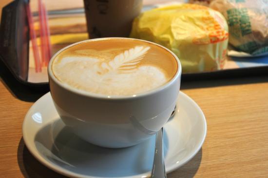 McDonald's : Latte