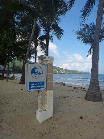Kamala Beach: Есть маршрут эвакуации при цунами