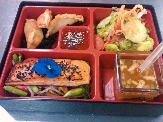 Phun Seafood Bar: Salmon Bento Box