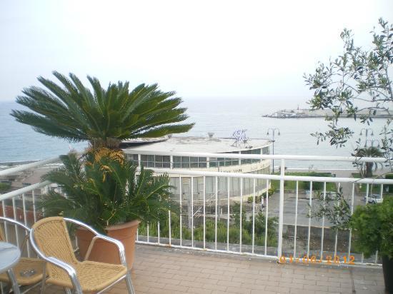 Hotel Tigullio: terrazza 4° piano fronte mare