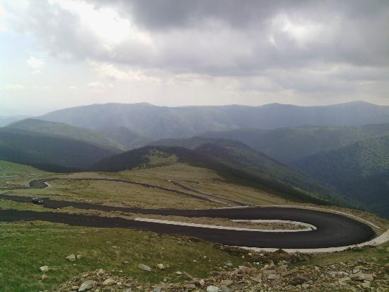 Gorj County, Roumanie : in the clouds
