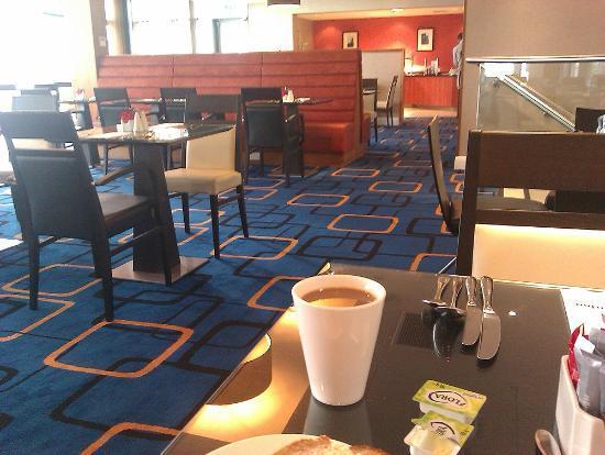Hilton Garden Inn Aberdeen Excellent breakfast Picture of