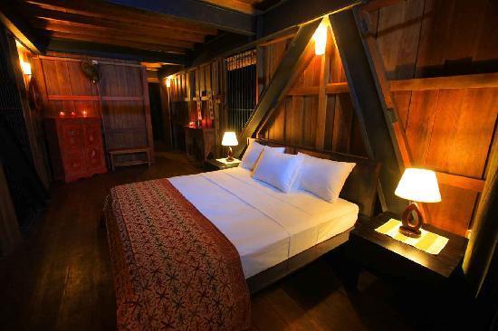 Matugama, Srí Lanka: Master bedroom