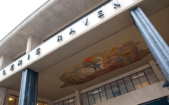 Galerie Ravenstein: entrée rue ravenstein (côté palais des beaux arts)