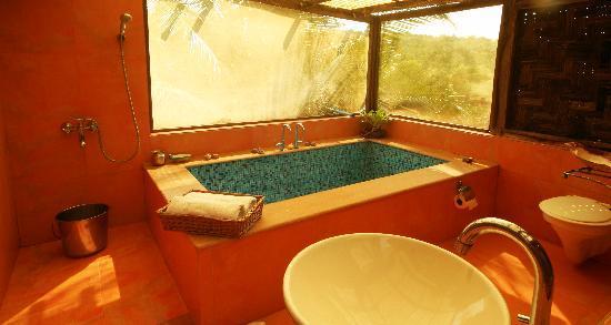 Pitruchaya Homestay: Premium Room bathroom
