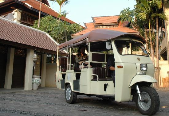 Puripunn Baby Grand Boutique Hotel: Our Shuttle Tuk-Tuk