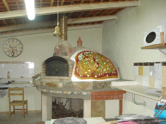 O Beiral Restaurant : forno a legna