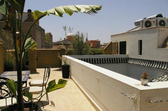 Riad Harmonia : Toit terrasse