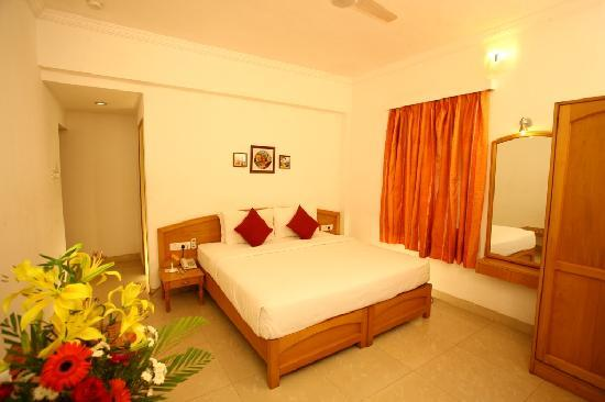 Hotel Calangute Towers : Deluxe Room