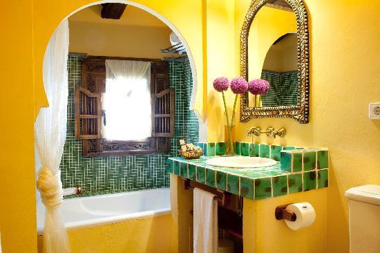 Hotel Abaco Altea: Quarto de baño Kasbah