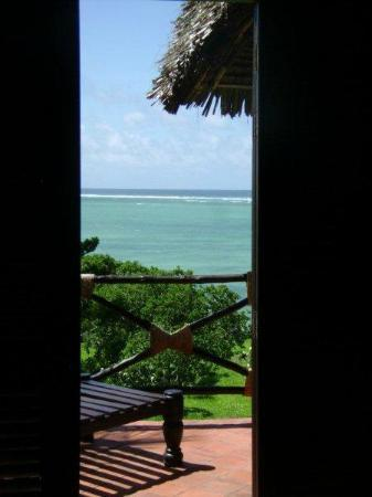 Tijara Beach: View from the bathroom