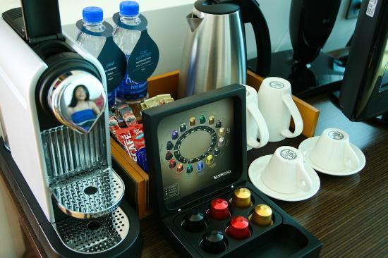 Hilton Doha: Nespresso Machine