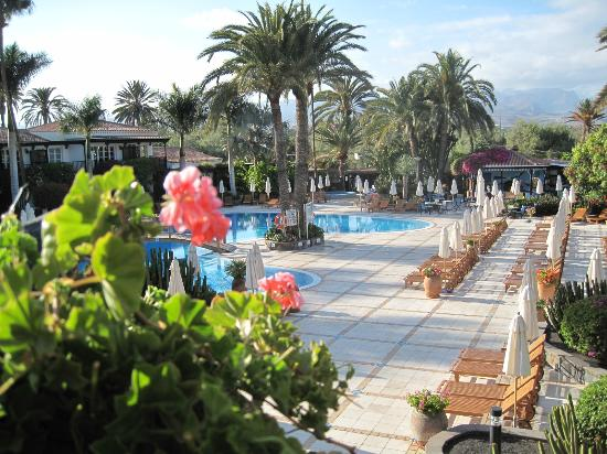 Seaside Grand Hotel Residencia: Blick zum Pool