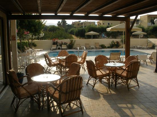 Arhodiko Hotel: Terrace