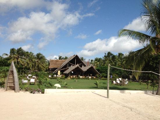 Kijiji Beach Resort: View from the beach.