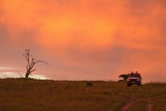 Kichaka Luxury Game Lodge: Kickaka Sunset