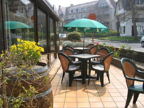 Hotel Montana: big sunny terrace