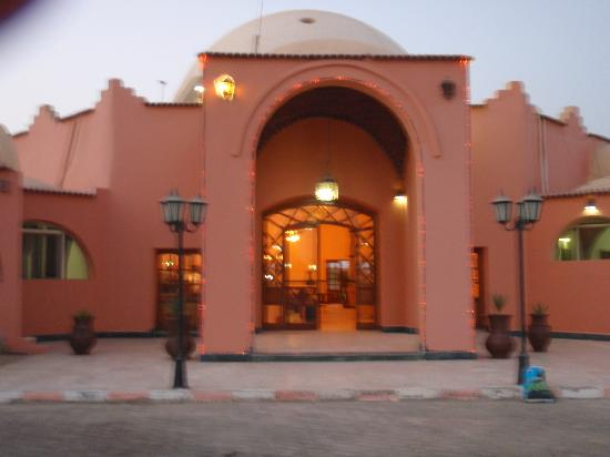 Cinderella Beach Resort : this is the entrance to the hotel