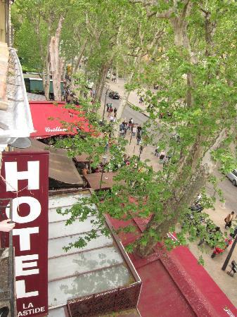 Bastide du Cours : 部屋からの眺め