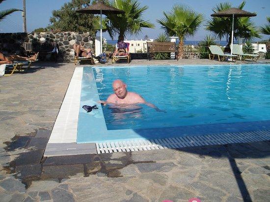 Santa Elena Hotel: in the pool