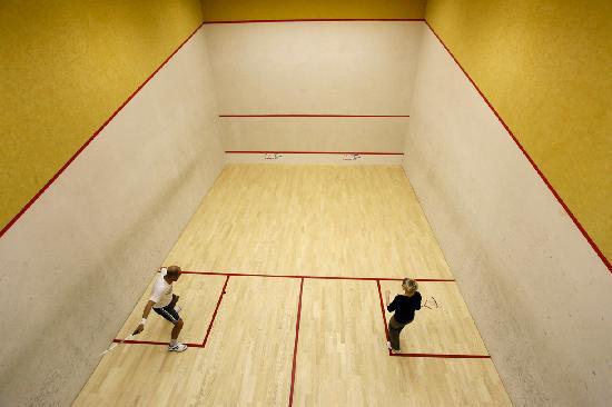 Sporthotel Enzian: Squash Court