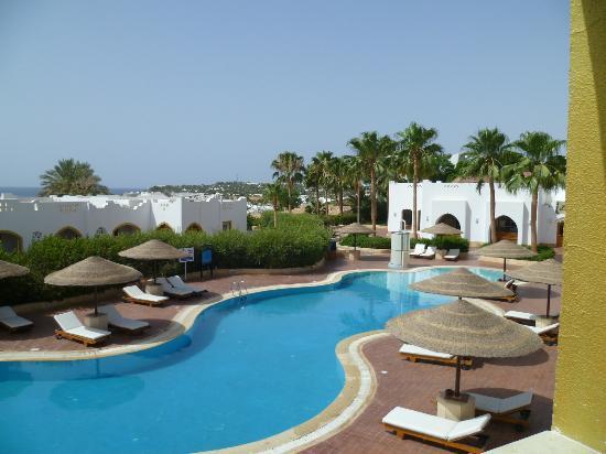 Domina Coral Bay Prestige Hotel : Vista dalla camera