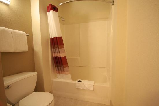 Red Roof Inn Sacramento - Elk Grove: Bath